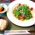 アルペンローズ - 豚の生姜焼き¥1500