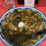 空港ラーメン 天鳳 - 天凰麺 病みつきになりそうなスープ