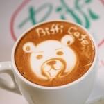 ビッフィ カフェ - ラテアートはいつの間にか有名に