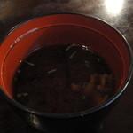 一乗寺 - 赤出汁