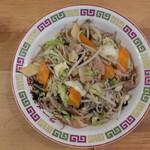 ラーメン大将 - 肉野菜炒め