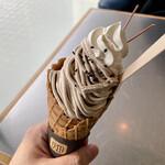 ソフトクリーム畑&チル アウト - モンブラン
