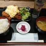 水炊き・焼鳥・鶏餃子 とりいちず - 自家製タルタルのチキン南蛮(3個)¥500-