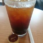 NEW YORKER'S Cafe - アイスアメリカーノ¥360-