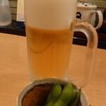とんQ - 生ビール