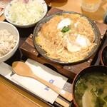 153417382 - かつ鍋定食