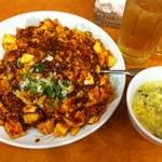中国家常菜 龍記 - 料理写真:麻婆丼(680円)
