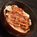 市松 - 鰻丼(1, 500円)2021年6月