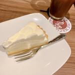 高倉町珈琲 - ダブルチーズケーキ