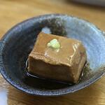 金田 - 胡麻豆腐