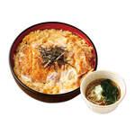 ごはんどき - カツ丼ミニそばうどんセット 960円