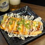 たこやき 刀鍛冶 - 2012.10 とん平焼チーズ入り(520円)