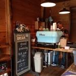 アイドントノウコーヒー ロースター - 店内