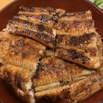 みしまや - 特上丼(漬物、酢の物、吸い物付き) 2700円