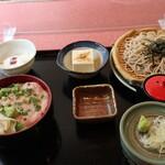 ときわ - 料理写真:ミニネギトロ丼セット