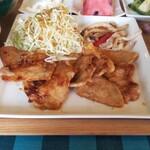 パルーテの杜 - 料理写真:生姜焼き
