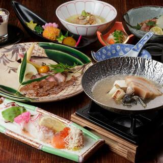 京都の歴史とこだわりの食を味わうコースに心満たされる