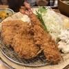 とんかつ芝 - 料理写真:らんちヒレ海老ミックスかつ定食