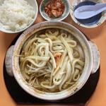 食道園 - 料理写真:ホルモン鍋&小ライス