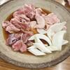 金太の金太 - 料理写真:豚精肉、砂肝、ナンコツ、シロナンコツ