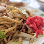 Tsuruya - 焼きそば(肉入り)