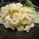 東京豚骨拉麺ばんから - 手作りポテトサラダ 300円