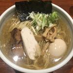 麺屋江武里 - 柚子塩味玉ら〜麺