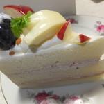 15349220 - ミュンヘン大橋店限定品 「りんごのケーキ」 250円【 2012年10月 】
