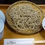 自家焙煎 花の木珈琲店 - もりそば ¥700
