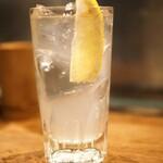 うみまち酒場 さかなさま - 塩レモンサワー