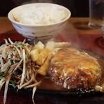 グリル ピエロ - ハンバーグ定食(1,200円)