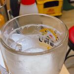 三陽 - 綺麗なエンジェルリングに感心。 キリンやなせ中生ジャッキ 520円 ※『ビールください』で出てくる。他にビールは6種類あるが理解不能w