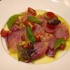 ブリボン - 料理写真:長崎県産のヒラマサのカルパッチョ