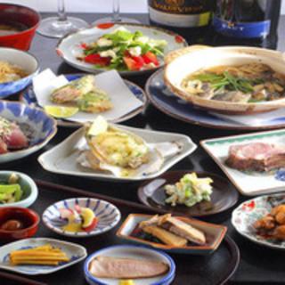 ◇おすすめ◇旬菜・旬魚を楽しむ月替わりコース◎