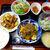 くいもんや 一歩 - 料理写真:日替わり三品セット(¥900)。右上:大根の味噌漬けも奥深い味わい