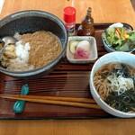 来らっさい - キーマカレー丼セット750円