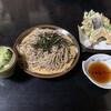 報徳庵 - 料理写真:天ざるそば   1380円