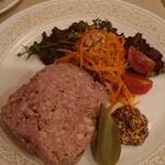 シェ・レノン - 料理写真:田舎風パテ