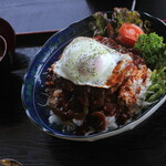 海ぞい食どう にくきゅう - 料理写真:ハンバーグ