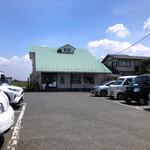 中村屋総本山 - お店の駐車場