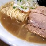 中村屋総本山 - 煮干のスープ