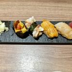 ワイン・寿司・天ぷら 魚が肴 - おかわりタイム