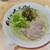 長浜ナンバーワン - 高菜ラーメン