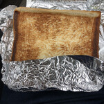 ドライブイン七輿 - 料理写真:ハムチーズトースト ¥250 正直、お値段高いな笑 昔はもっと安かったのに^^;