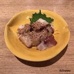 三陸海鮮酒場 浜来 - 胡麻油で味わう蛸ぶつ