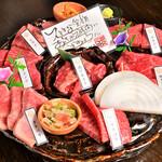 近江牛焼肉 華火 - 名物!華火7種盛り