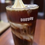 ドトールコーヒーショップ - ドリンク写真:アイスコーヒーSフロート224+102、326円