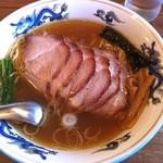 松波ラーメン店 - 焼豚麺('12/10)