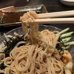 環七ラーメン 周麺 - 冷やし中華麺アップ