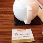 サロン・ド・テ ルピシア 梅田店 - お茶の説明